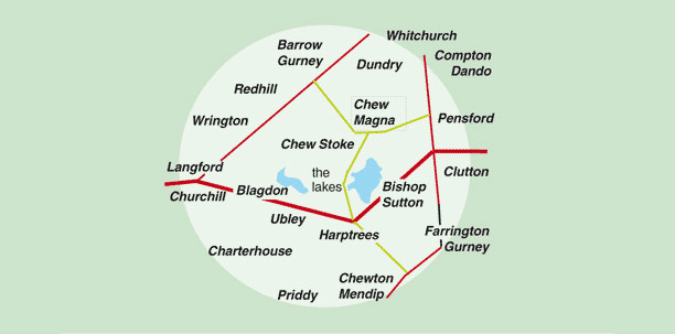 map chew valley